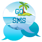 GO SMS - Beach Whale icon