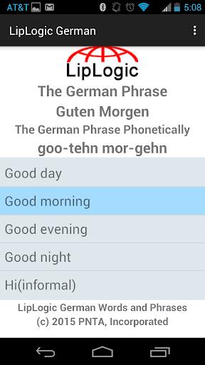 LipLogic German