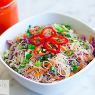 Gluten-Free Asian Noodle Salad [Vegan] Recipe