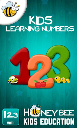 孩子們學習數字