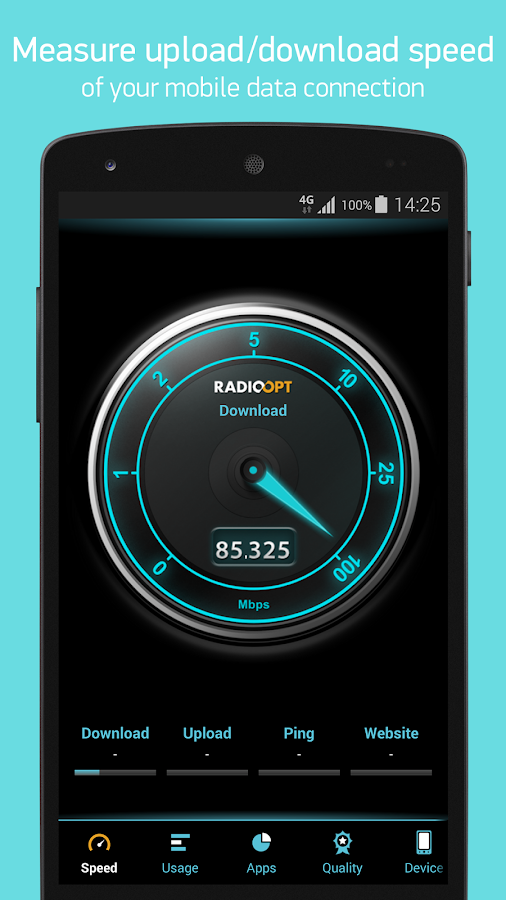 Traffic Monitor & 3G/4G Speed - screenshot