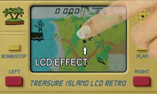 Treasure Island LCD Retro- screenshot thumbnail