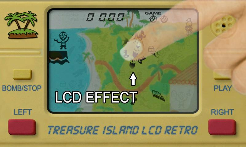Treasure Island LCD Retro - screenshot