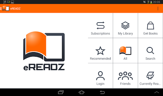 eREADZ - screenshot thumbnail