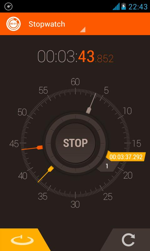 Stopwatch Timer - screenshot
