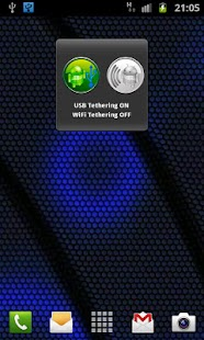 One Click USB WiFi Tether - screenshot thumbnail