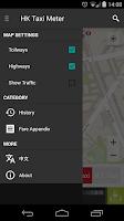 Screenshot of HK Taxi Meter