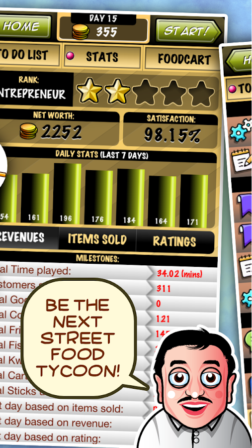 Streetfood Tycoon- screenshot