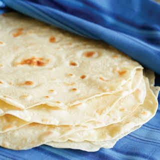 Handmade Flour Tortillas.
