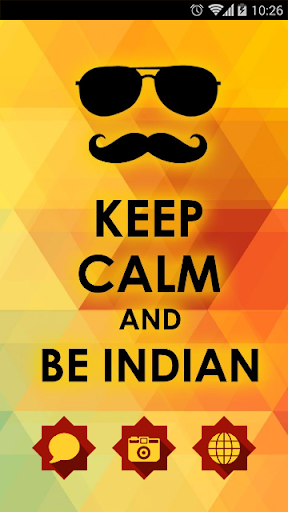 Keep Clam and Be Indian Theme