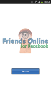 Friends Online for Facebook- screenshot thumbnail