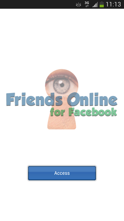 Friends Online for Facebook - screenshot