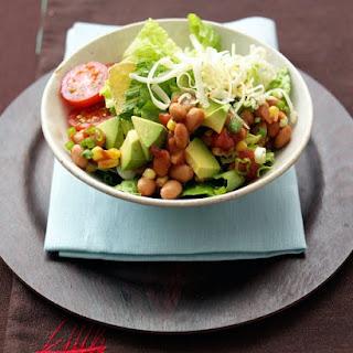 Bean, Corn, and Tortilla Salad