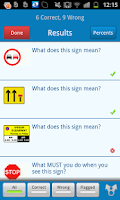 Screenshot of LGV Theory Test UK
