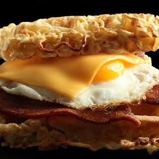 Ramen Waffle Sandwich