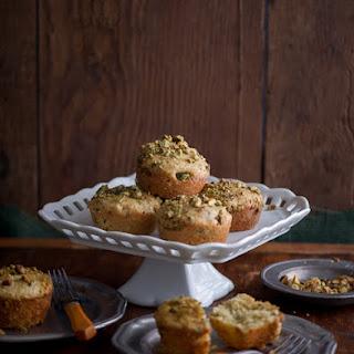 Pistachio Olive Oil Mini Tea Cakes.