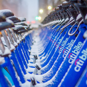 by Kevin Case - Transportation Bicycles ( bike share )