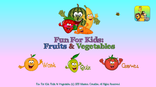 Fun4Kids: Fruits Vegetables