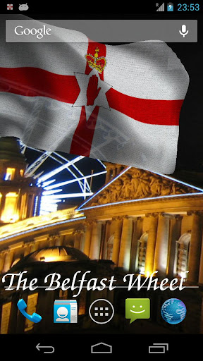 【免費個人化App】3D Northern Ireland Flag LWP-APP點子