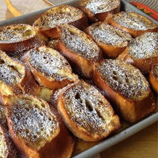Brunch Baked French Toast.