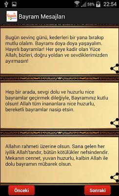 Bayram Mesajları - screenshot