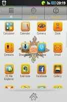 Screenshot of Sunrisepub Go Launcher Ex