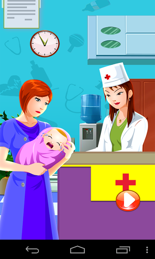 Baby Doctor Office Clinic - screenshot