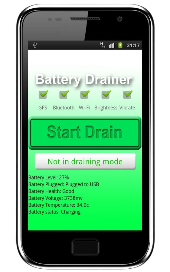 Battery Drainer- screenshot
