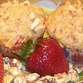 Strawberry Nut Muffins