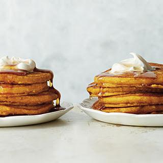 Pumpkin-Almond Pancakes