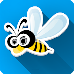 Funny Bee World Live Wallpaper