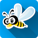 Funny Bee World Live Wallpaper icon