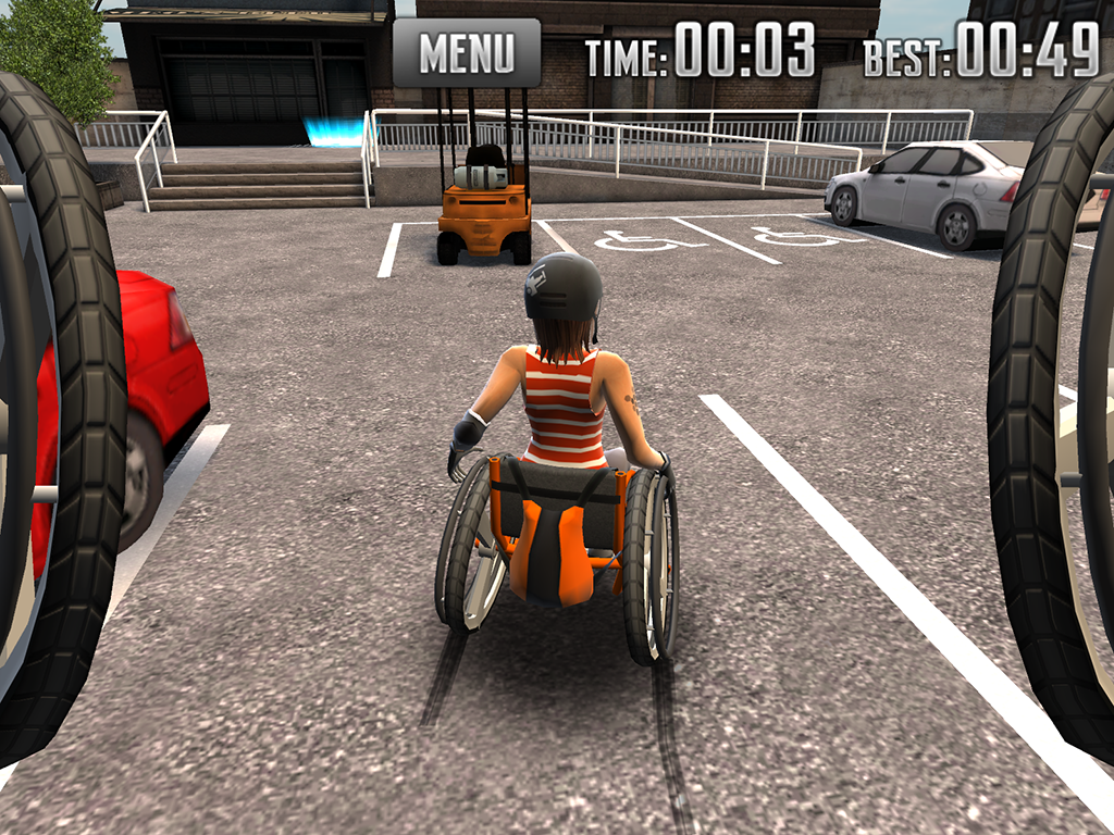 Extreme Wheelchairing- screenshot