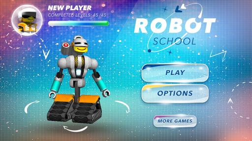 Robot School. Programming Game