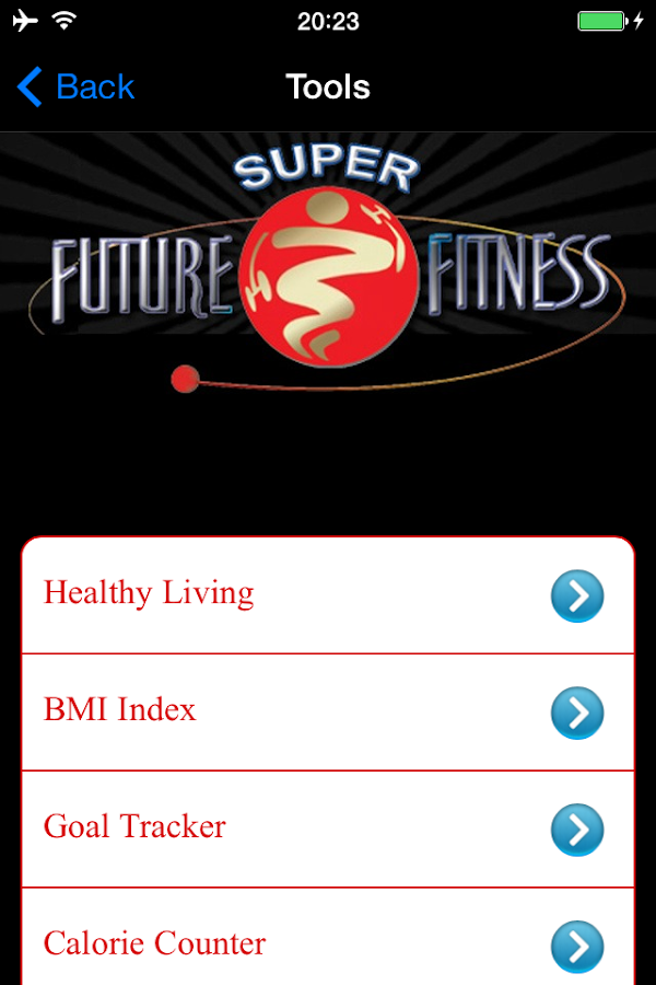 Super Future Fitness- screenshot