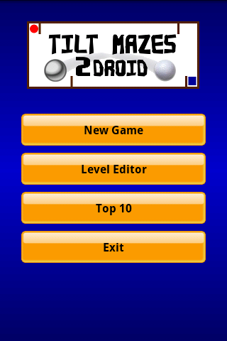 Tilt Mazes 2Droid - Labyrinth - screenshot