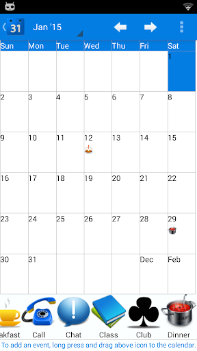 Calendar 2015 UK Pro