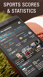 365Scores: Live Scores & News Screenshot 1