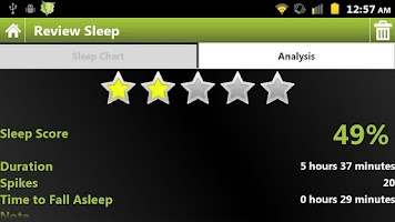 Screenshot of ElectricSleep