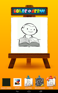 Color & Draw for kids- screenshot thumbnail
