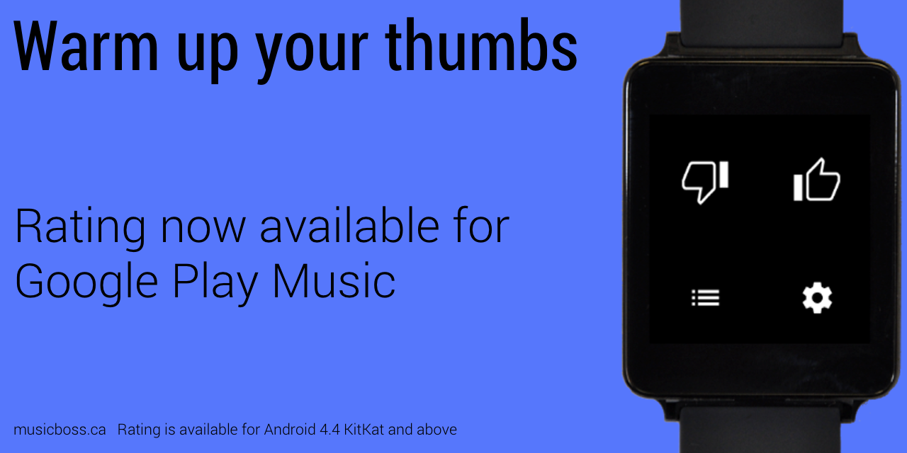 Music Boss for Android Wear- screenshot
