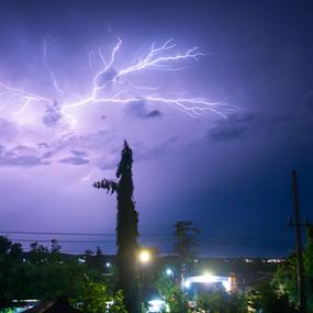 thunder light by Martin Marthadinata - Landscapes Weather