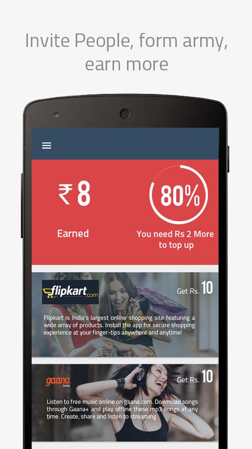 Mobile Topup Talktime Recharge - screenshot