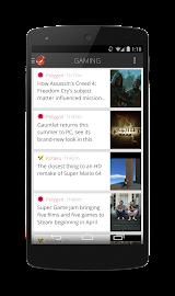 Flyne. The Offline Reader. Screenshot 4