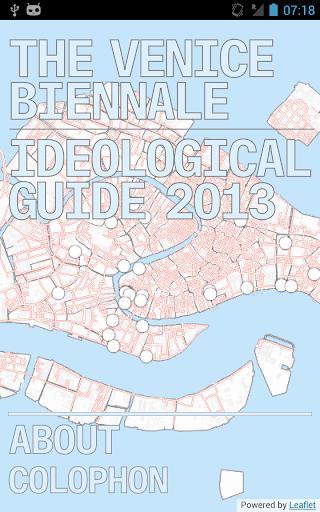 Venice Ideological Guide 2013