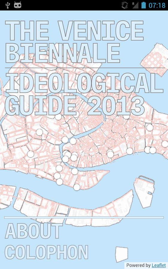 Venice Ideological Guide 2013- screenshot