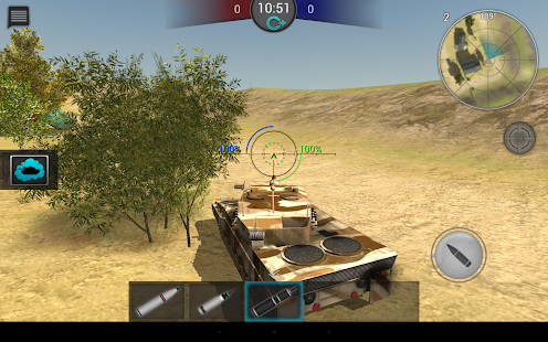Tanktastic - 3D tanks online - screenshot thumbnail