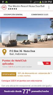 HotelClub: 70% de descuento: miniatura de captura de pantalla