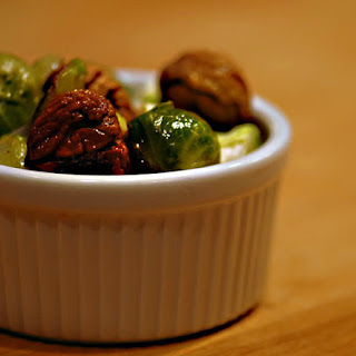 Chestnuts with Brussel Sprouts