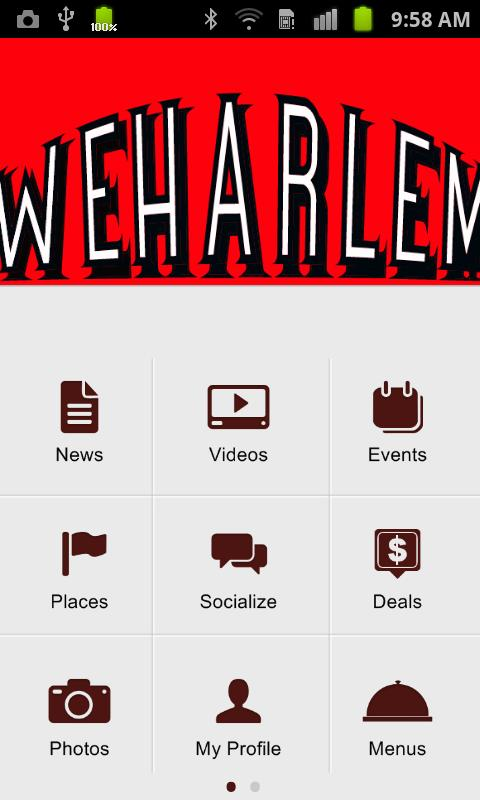WeHarlem - screenshot